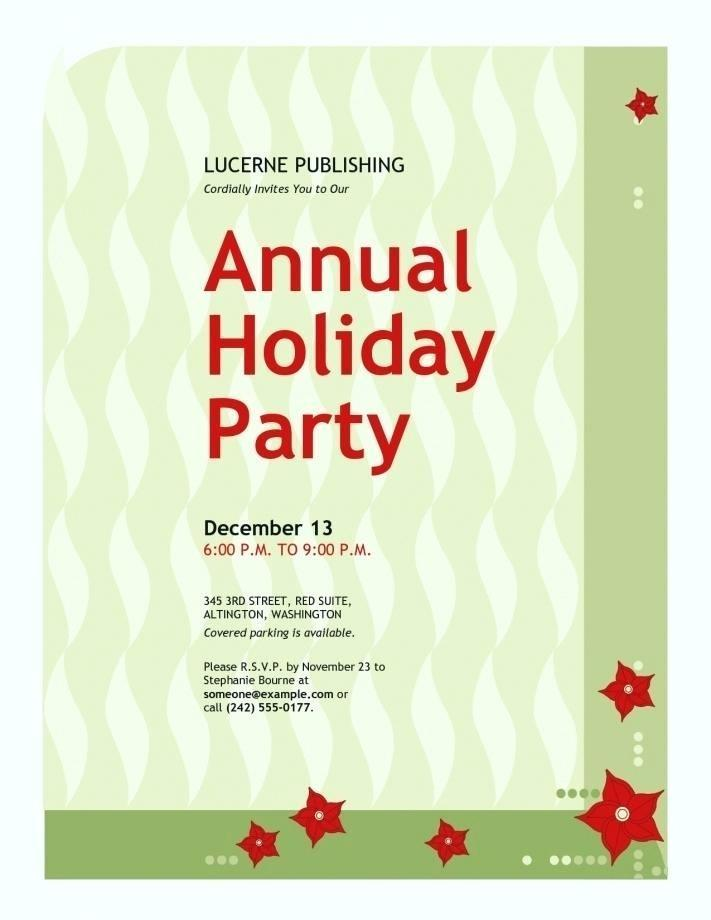 Funny Office Party Invitation Templates