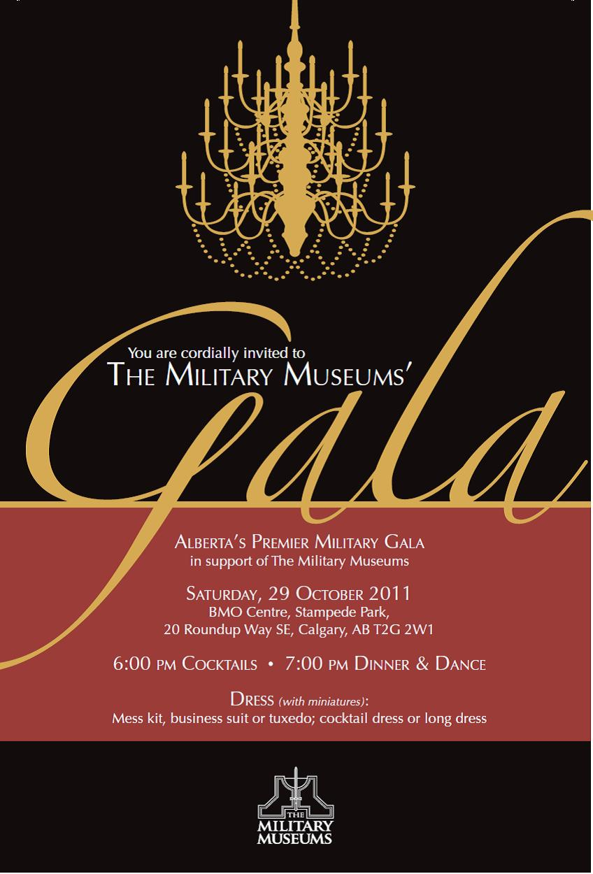 Gala Night Invitation Template