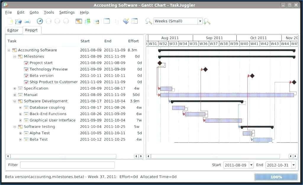 Gantt Chart Excel Template Xlsx