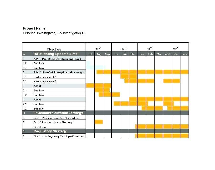 Gantt Diagram Template Download