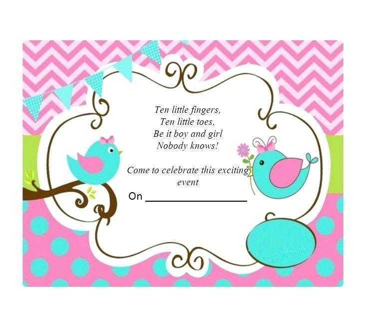 Gender Reveal Invitation Maker Free