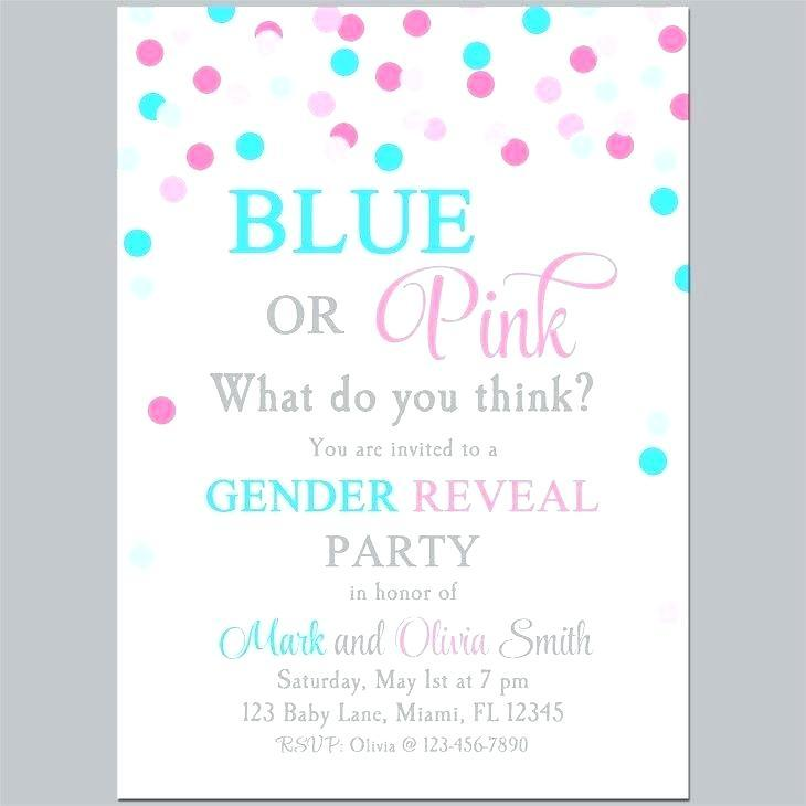 Gender Reveal Party Invitation Maker