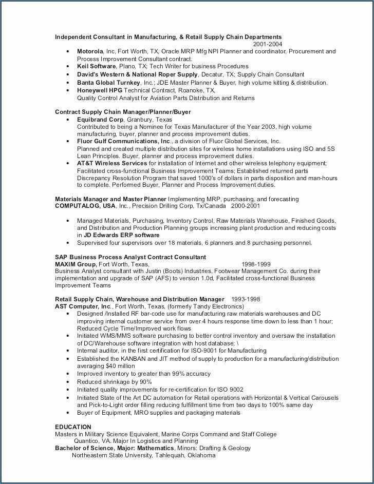 General Labor Resume Templates