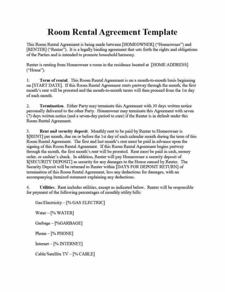 Generic Lease Agreement Template