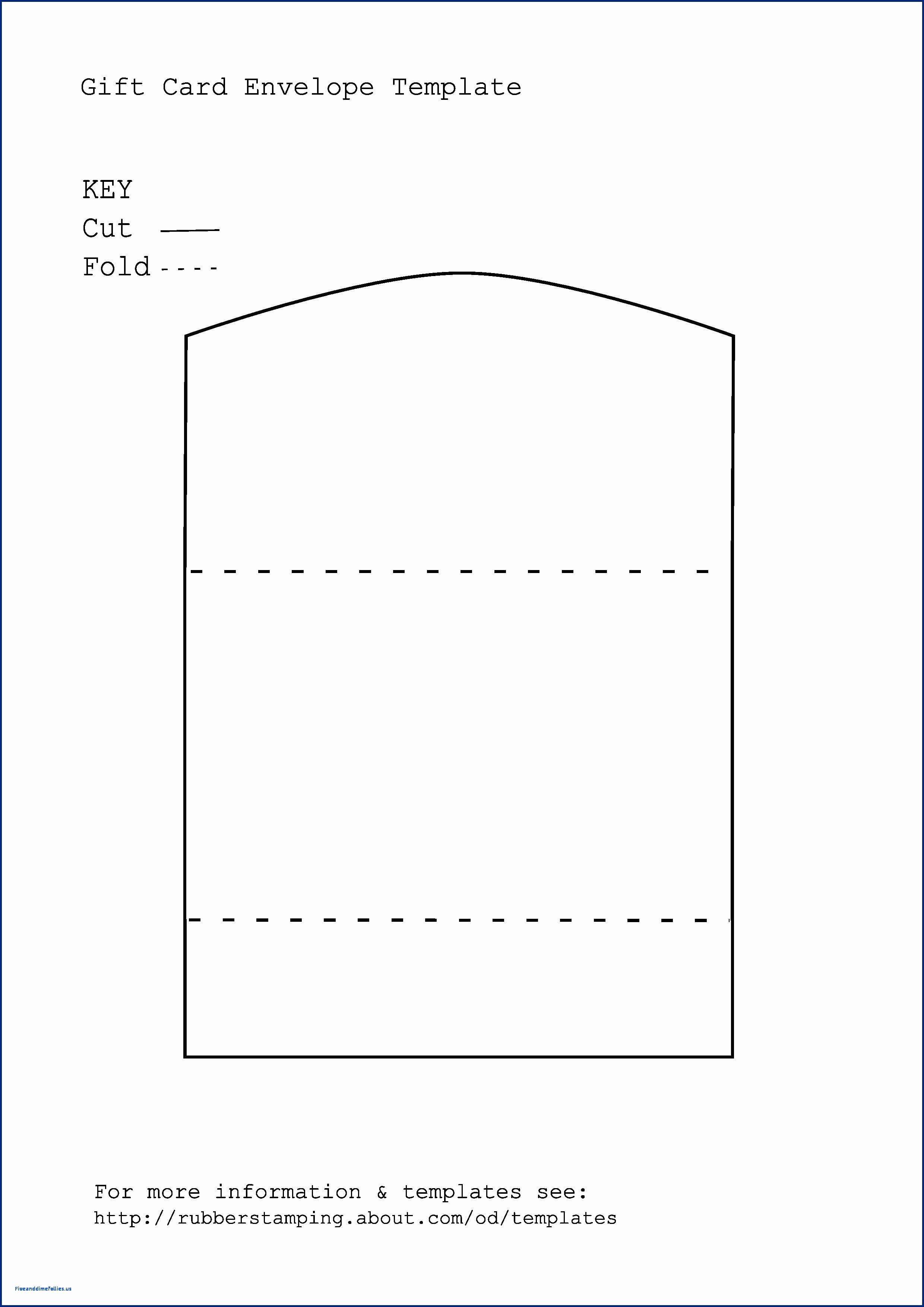 Gift Registry Card Template