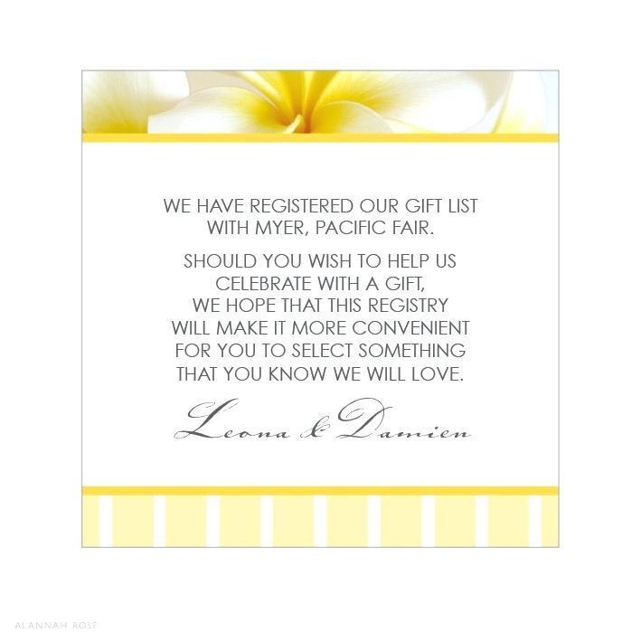 Gift Registry Web Template