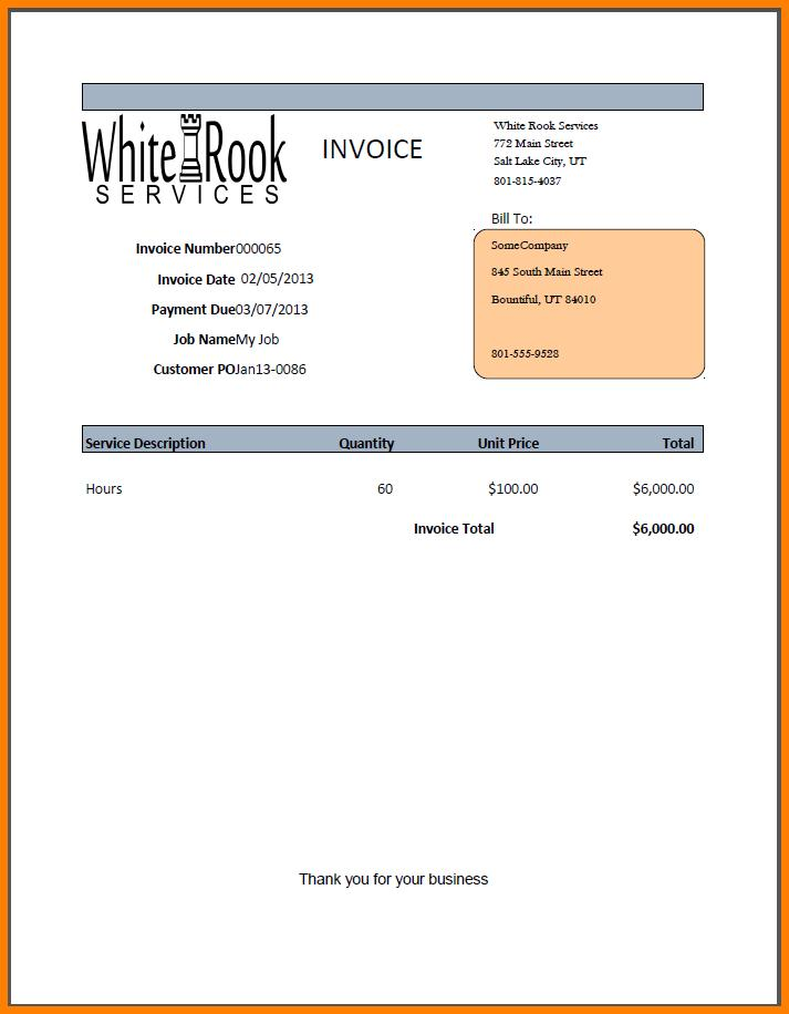 Gnucash Custom Invoice Template