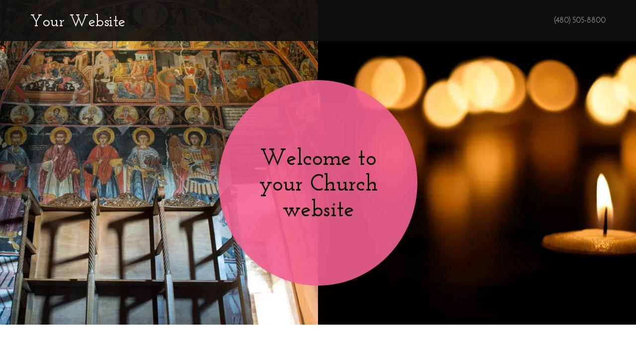 Godaddy Church Website Templates