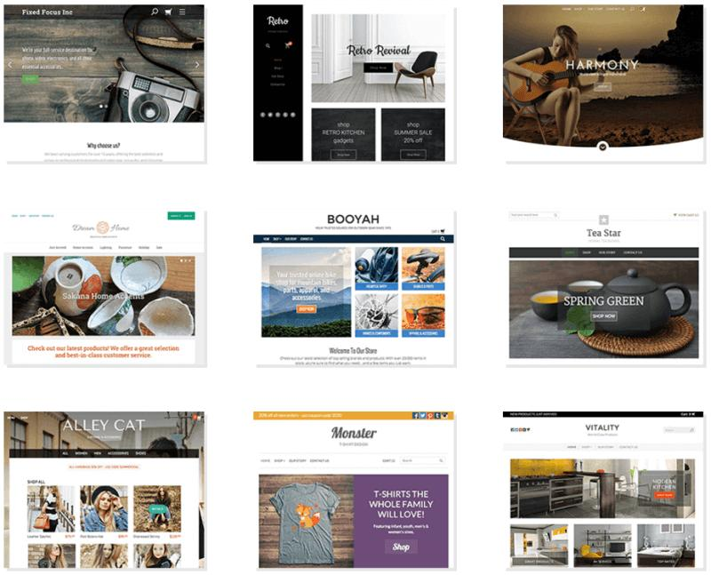 Godaddy Web Builder Templates