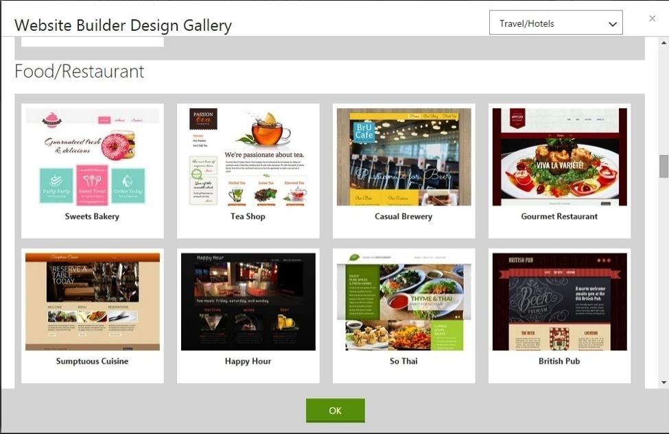 Godaddy Website Design Templates