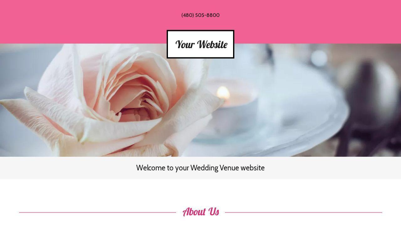 Godaddy Wedding Website Template