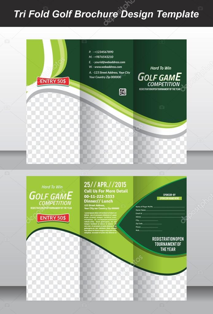 Golf Brochure Template