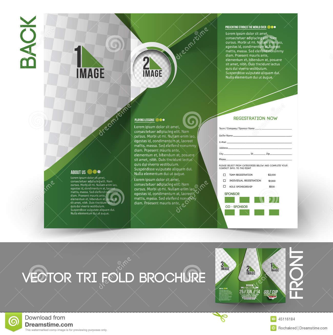 Golf Brochure Templates