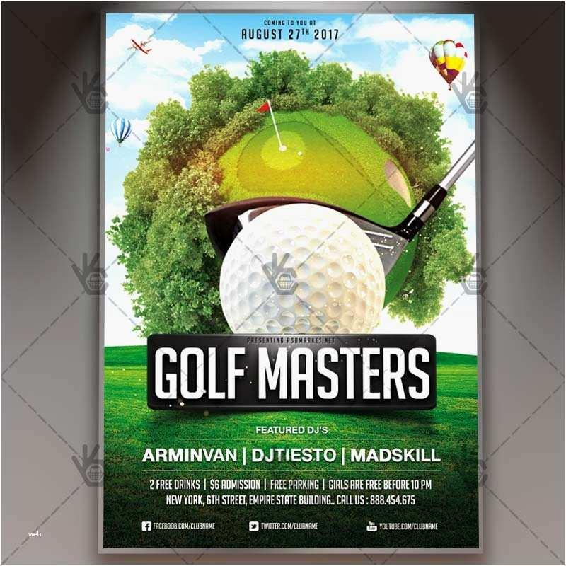 Golf Flyer Word Template Free
