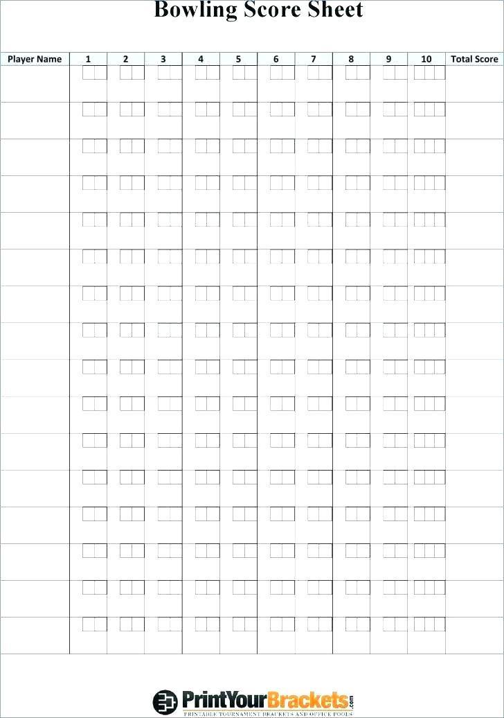 Golf Tournament Format Sheet