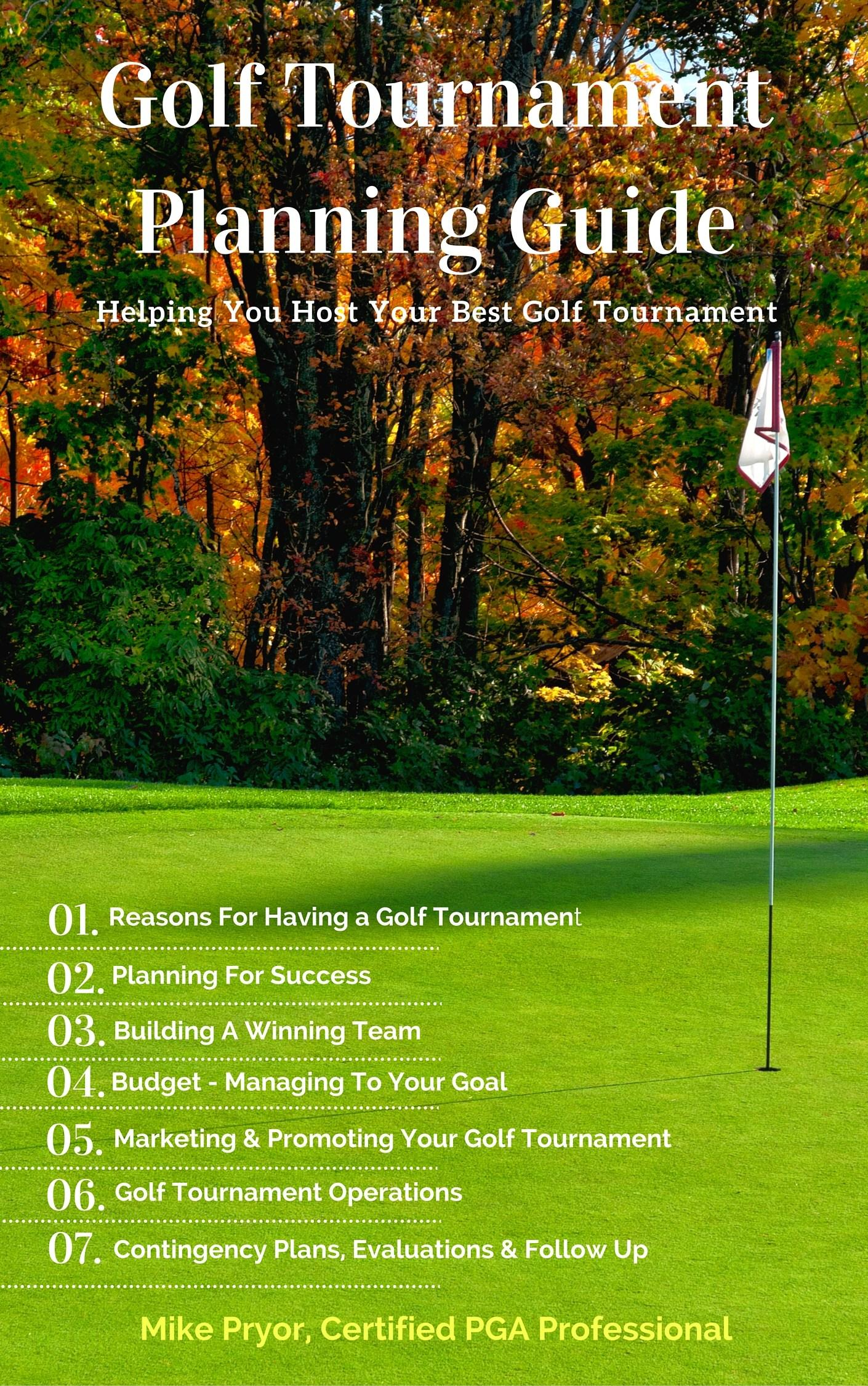 Golf Tournament Planner Template
