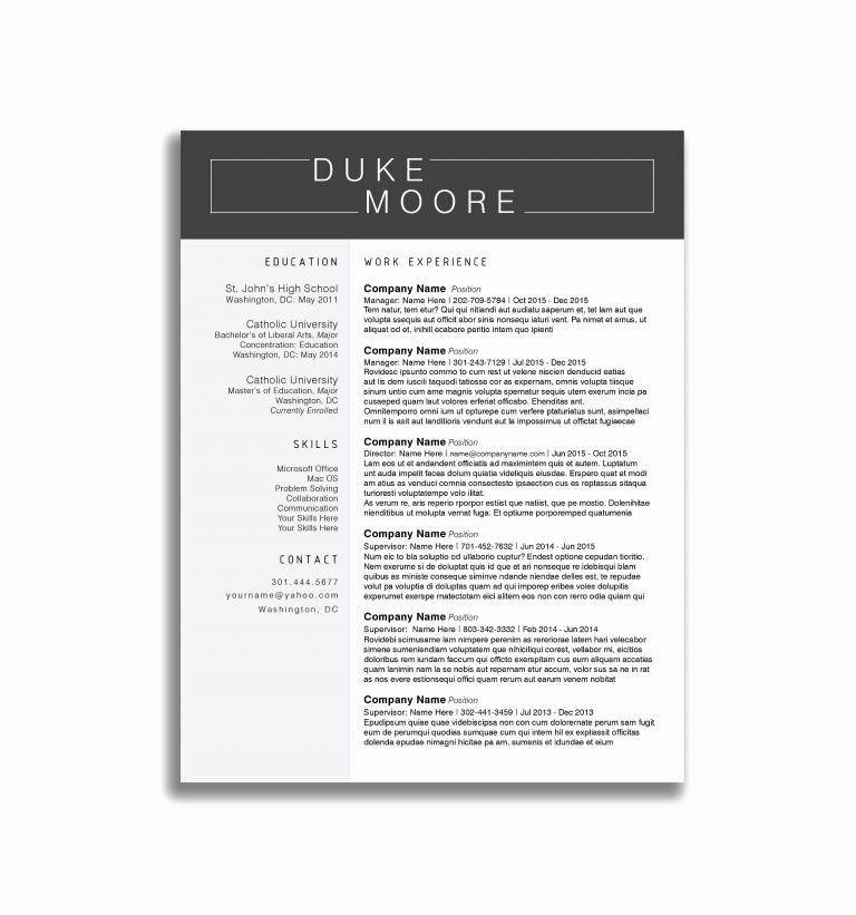 Good Resume Examples For Retail Jobs