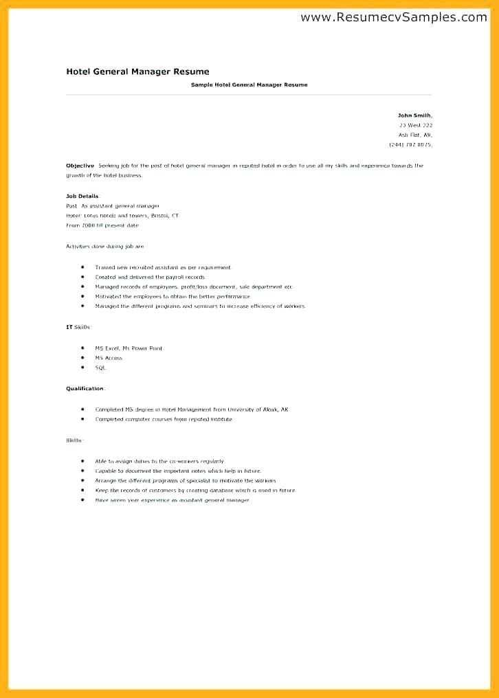 Good Resume Objectives For Medical Field