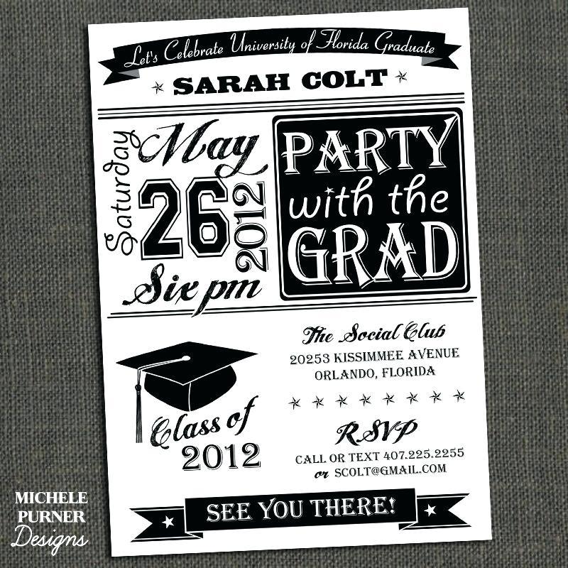 Graduation Announcement Templates Walmart