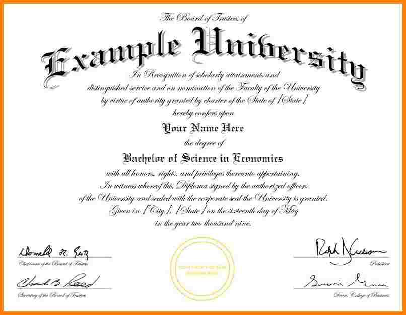 Graduation Certificate Template Download