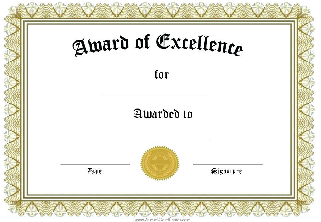 Graduation Certificate Template Pdf