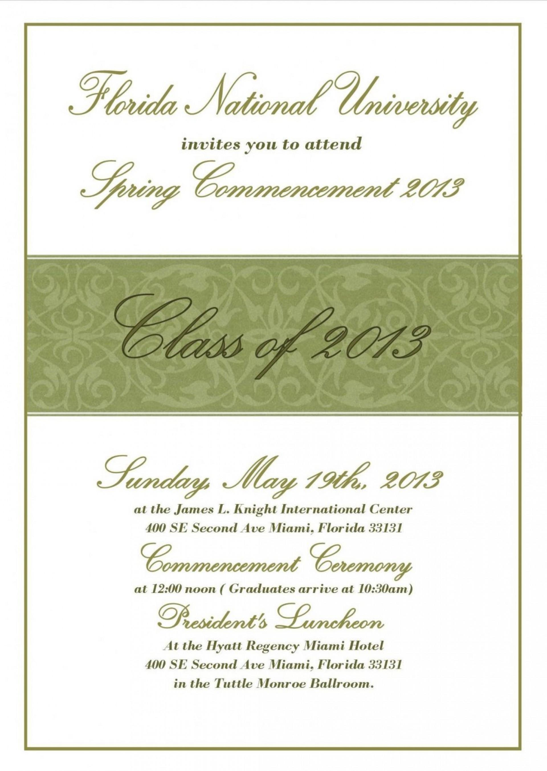 Graduation Party Invitation Templates Photoshop