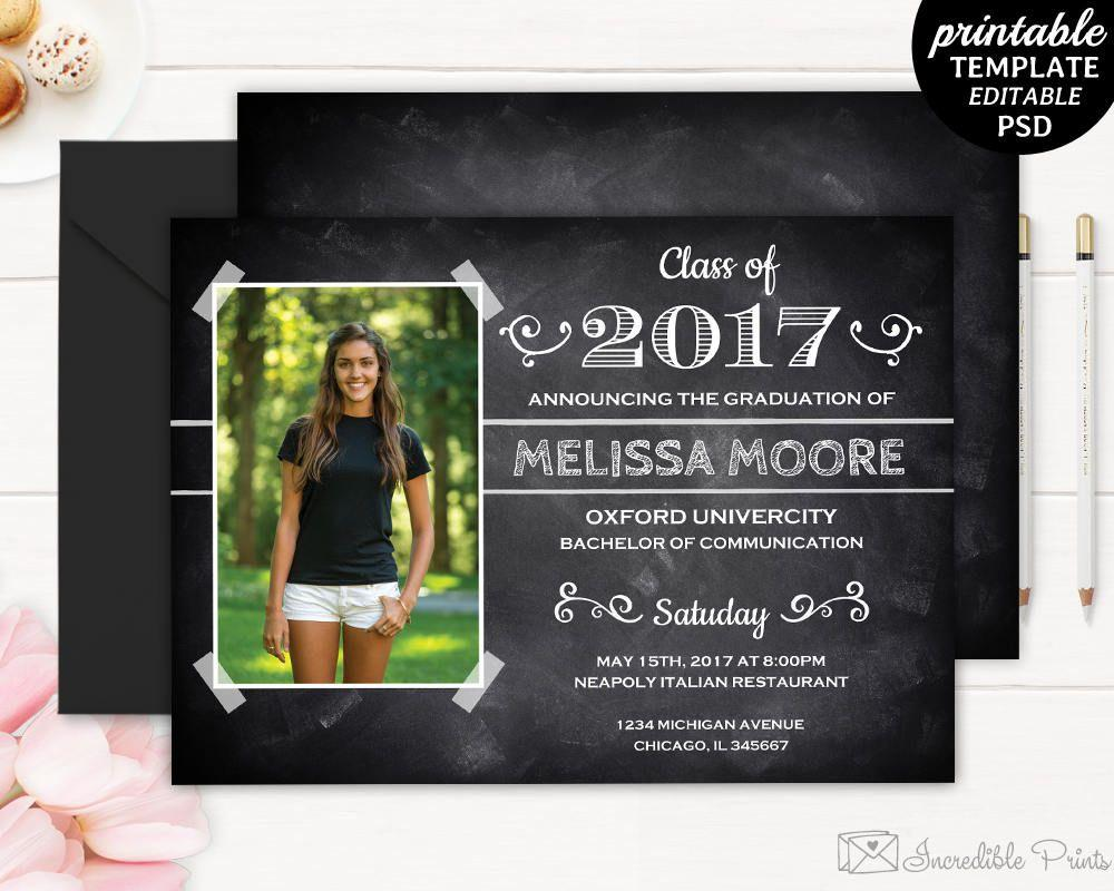Graduation Party Invite Template