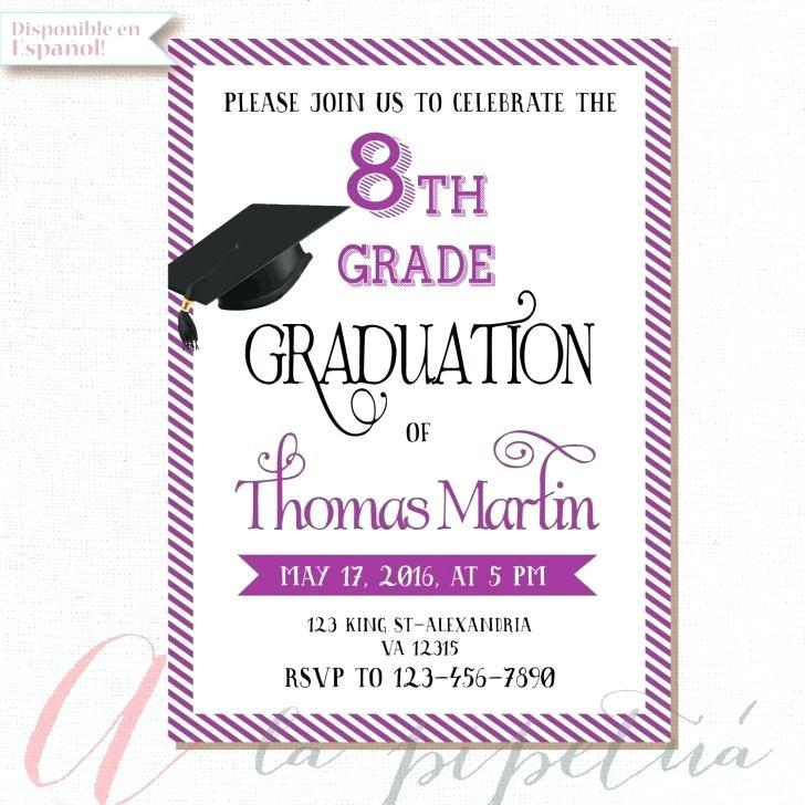 Graduation Reception Invitation Template