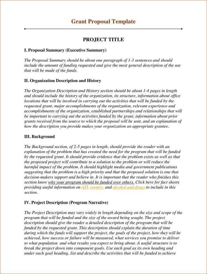 Grant Proposal Timeline Template