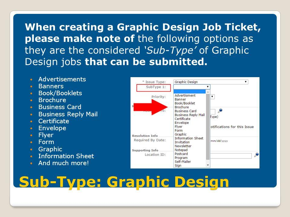 Graphic Design Job Ticket Template