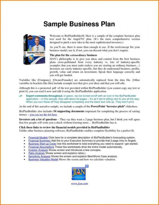Growthink Business Plan Template Review