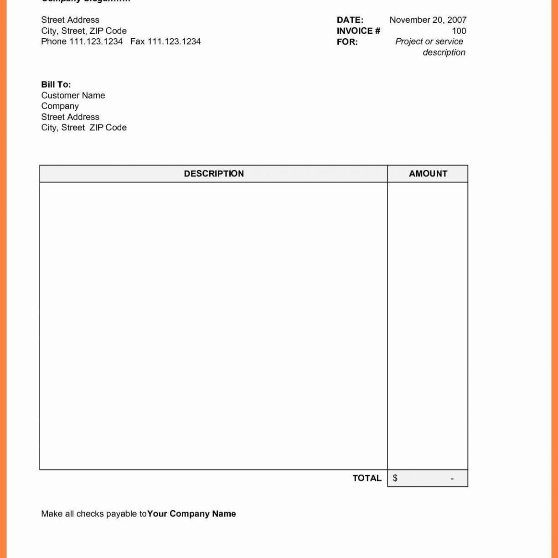 Gst Invoice Format Pdf Download