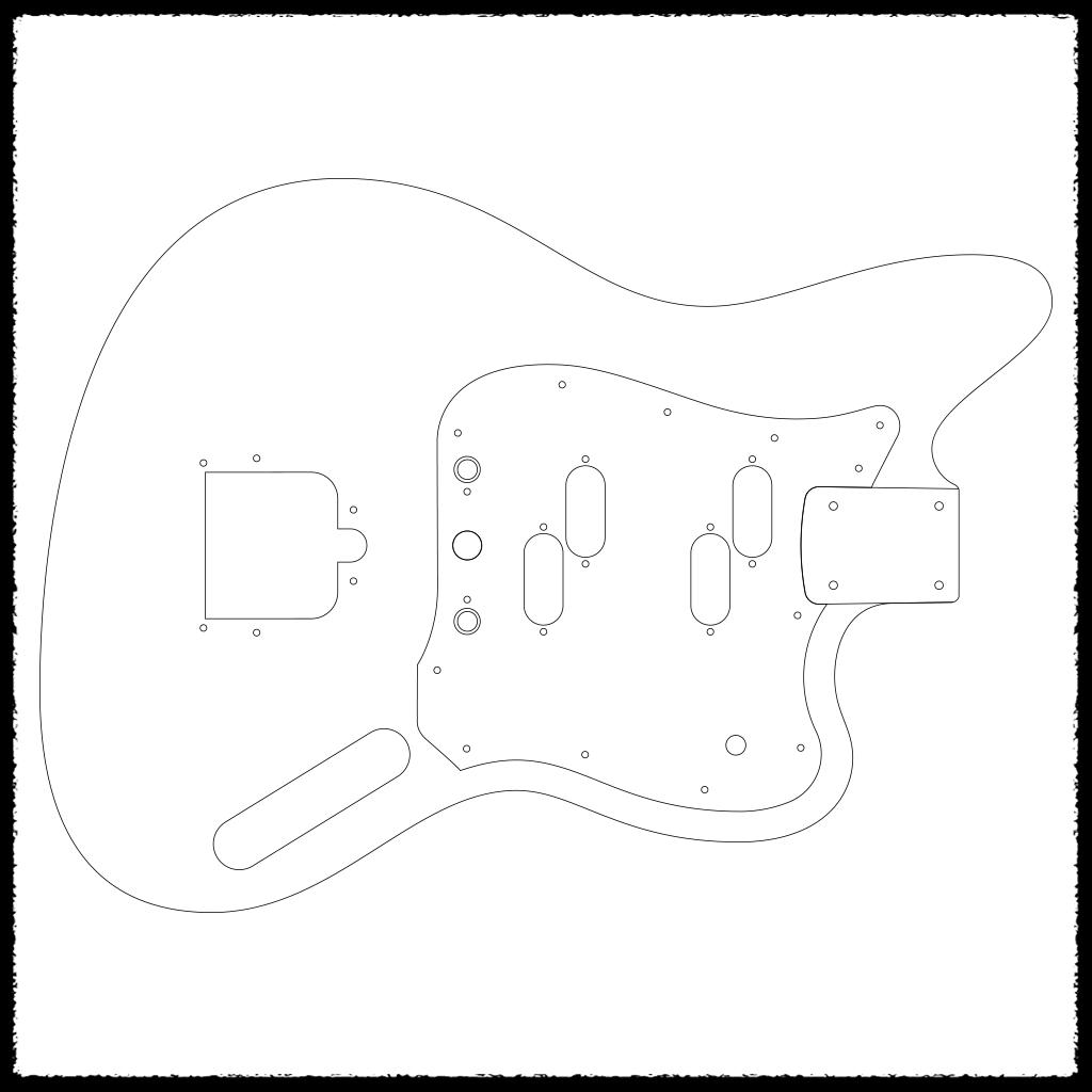 Guitar Routing Templates