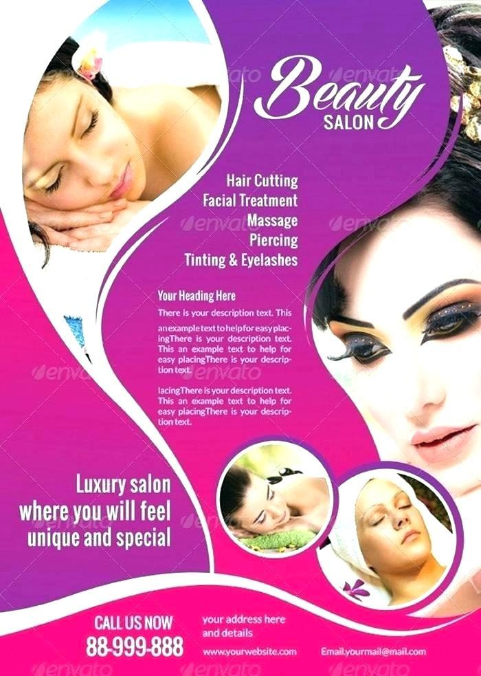 Hair Salon Flyer Templates Free Download