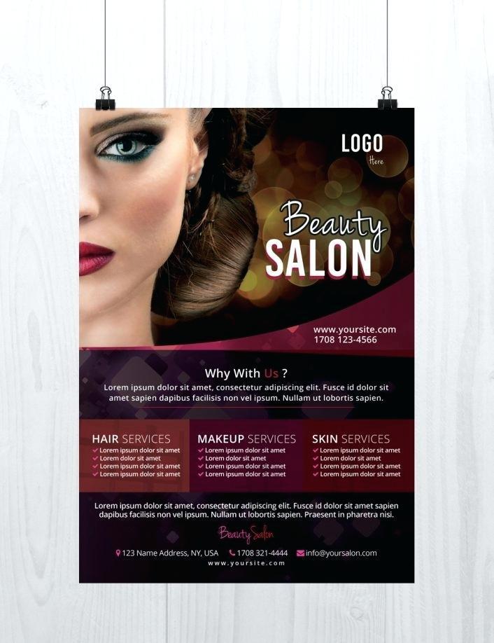 Hair Salon Price List Template Word Free
