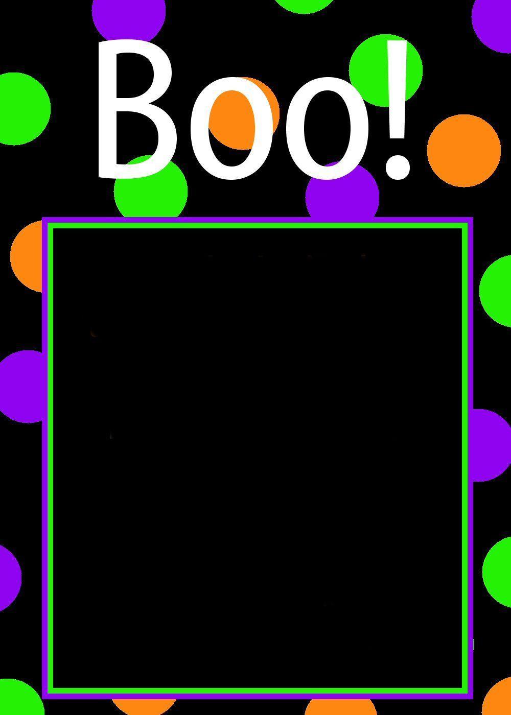 Halloween Invitation Flyer Templates Free