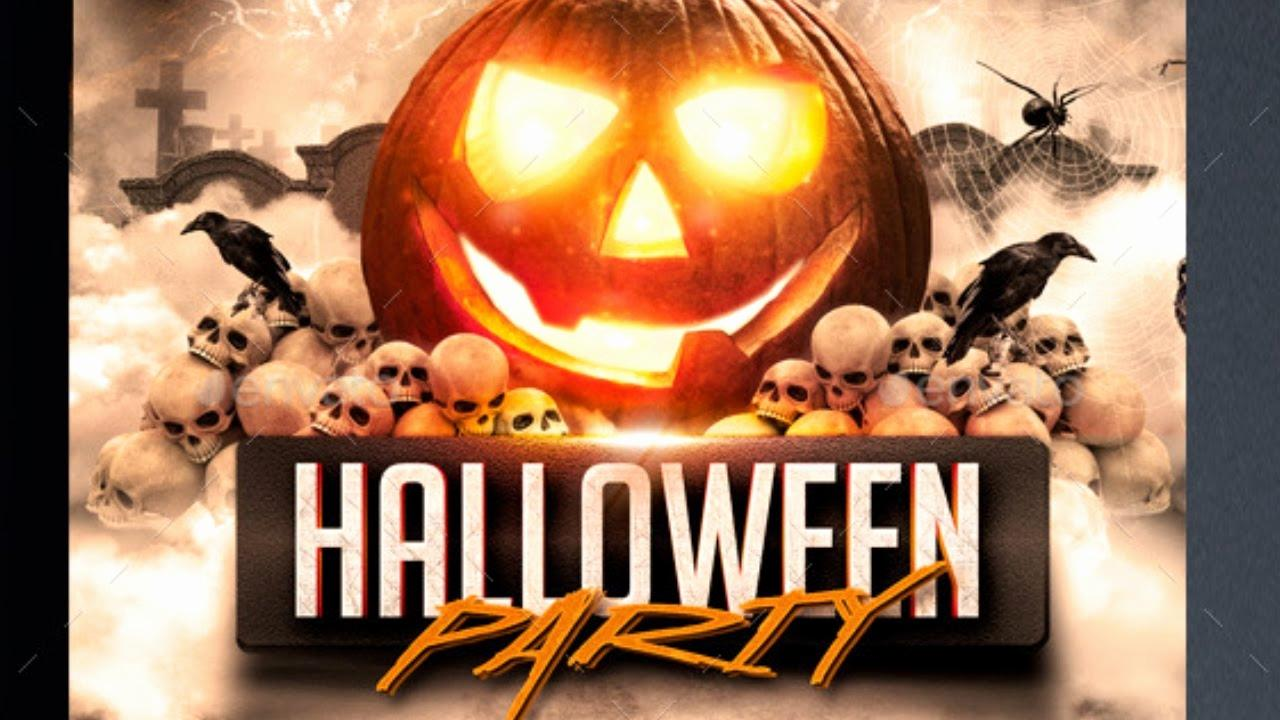 Halloween Party Flyer Templates Free