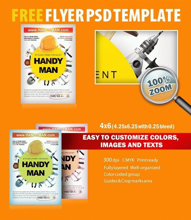 Handyman Flyer Templates Free Download