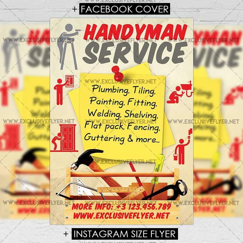 Handyman Flyer Templates