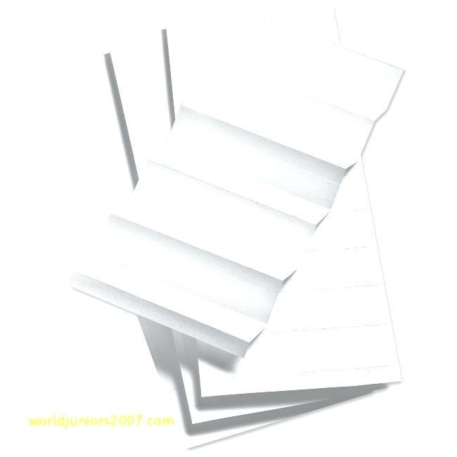 Hanging File Folder Tab Template Excel