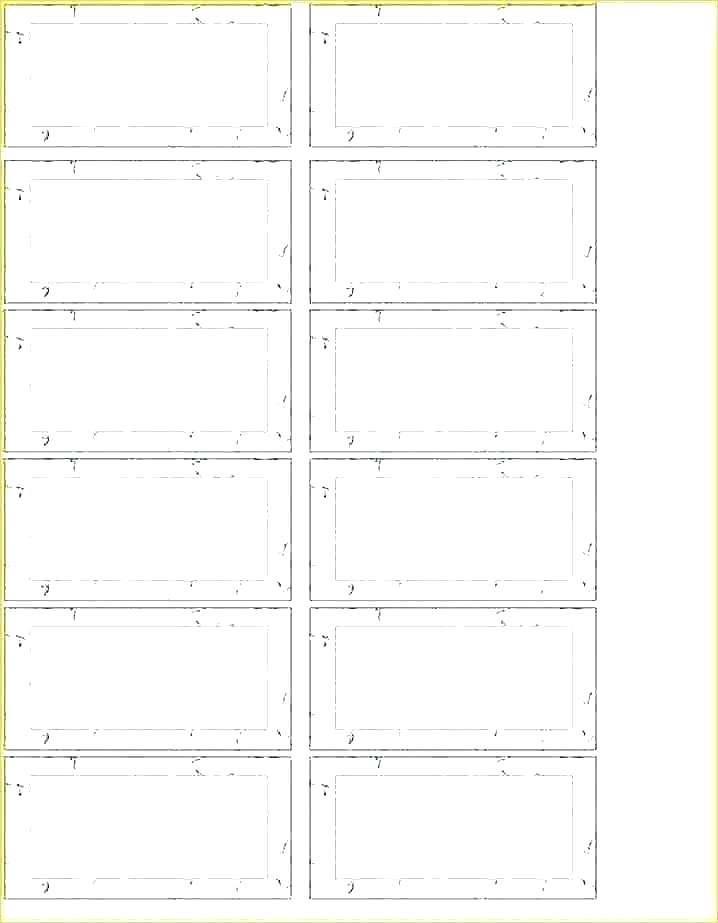 Hanging Folder Labels Template