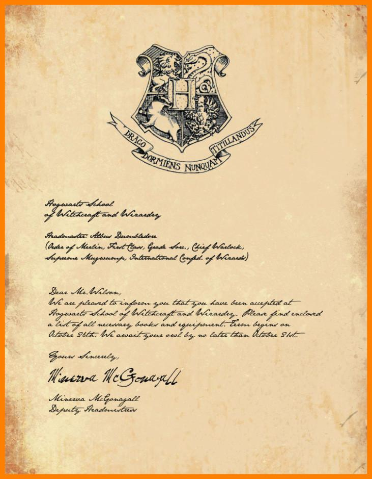 Harry Potter Wedding Invitation Template