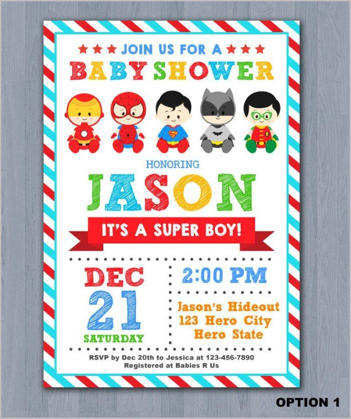 Hawaiian Baby Shower Invitation Templates
