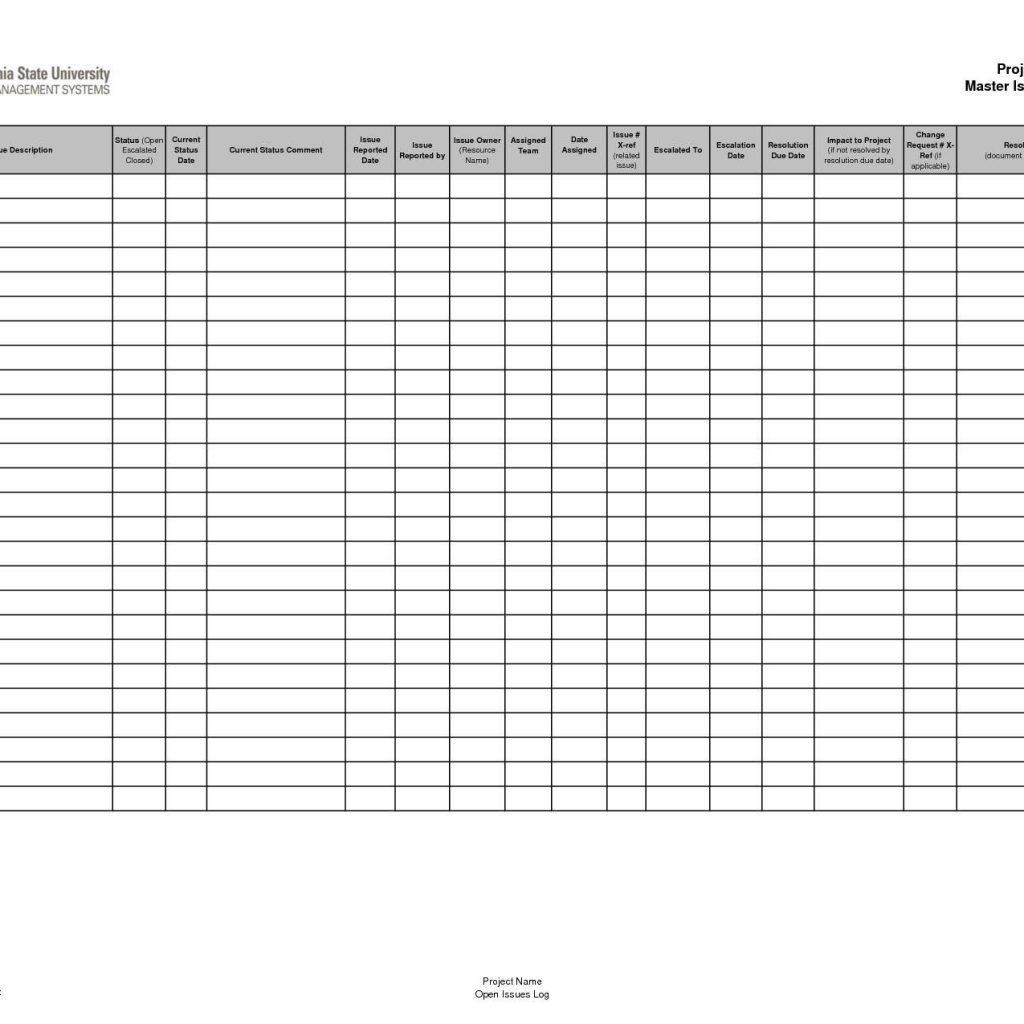 Hazardous Chemical Inventory Form Template