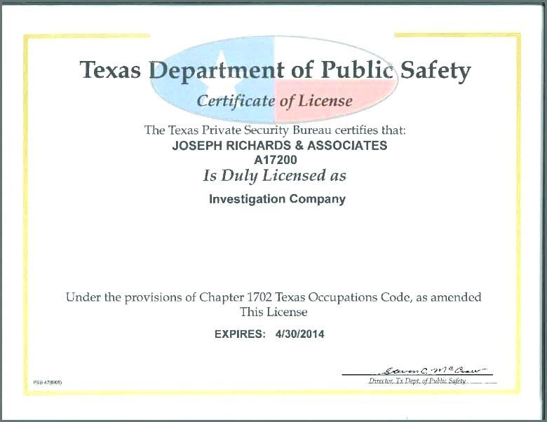 Health And Safety Training Certificate Template