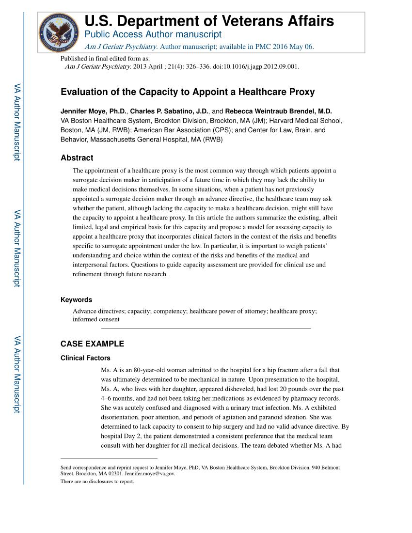 Health Care Proxy Form Virginia