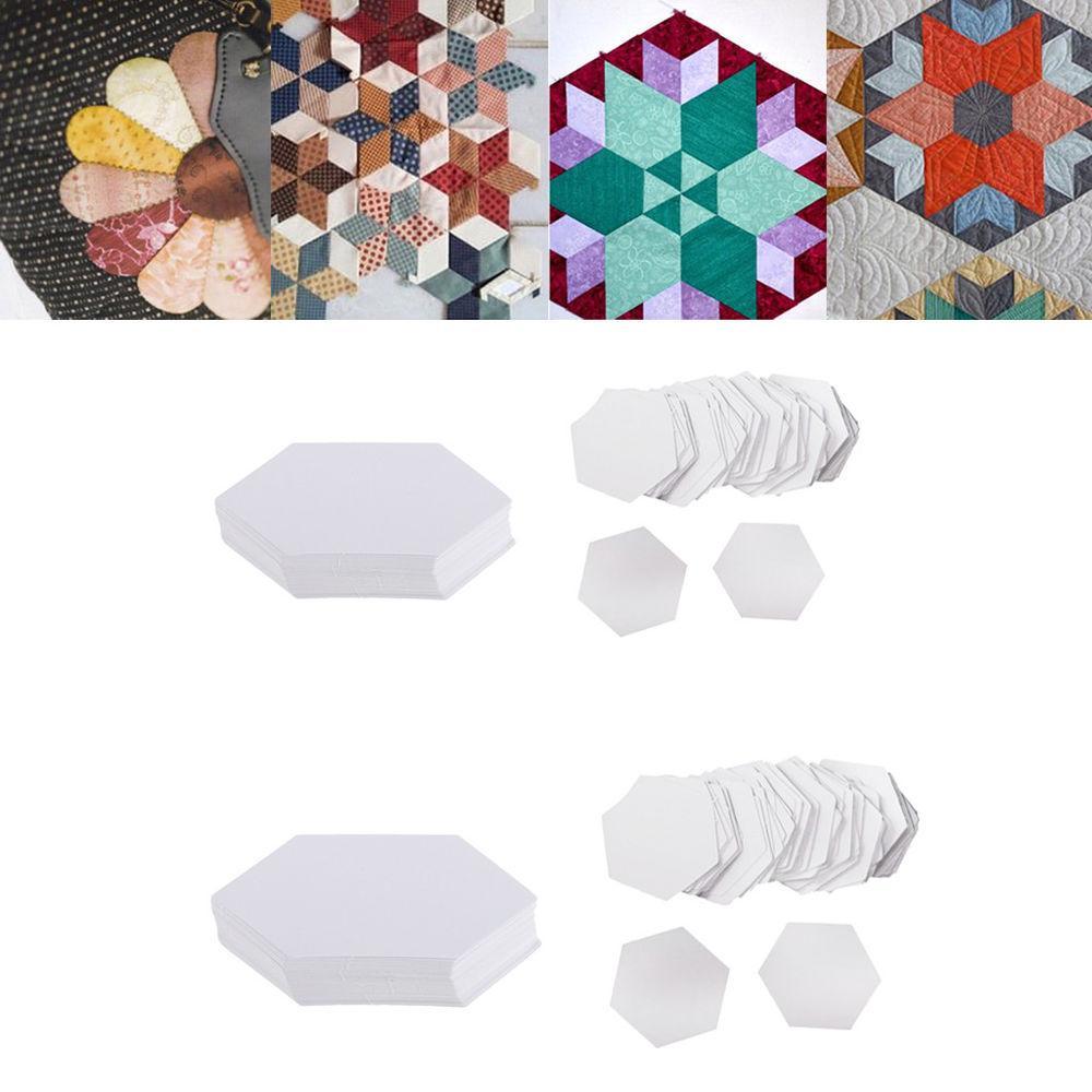 Hexagon Paper Piecing Templates