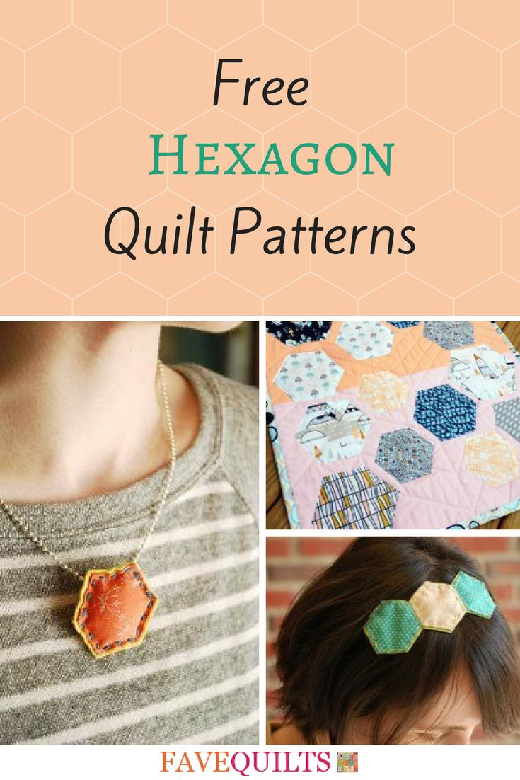 Hexagon Quilt Patterns Free