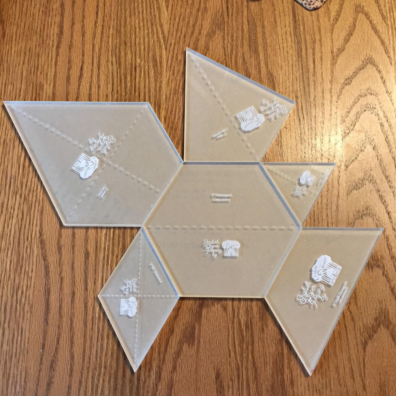Hexagon Quilt Templates