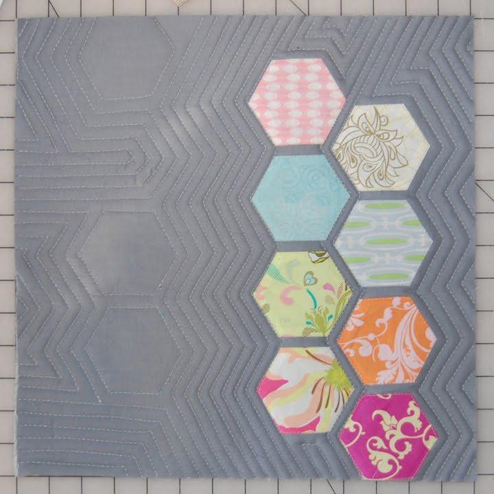Hexagon Quilting Designs